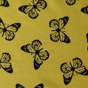 Vzor potlace s motylmi