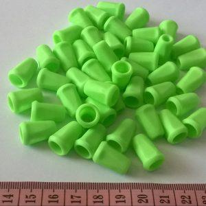 Koncovka na snurku - zelena